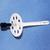 Дюбель 10х140мм с металл гвоздем, с термозаглушкой для изоляции 1 шт.