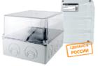 Монтажные коробки открытой установки IP44, IP55 приборные